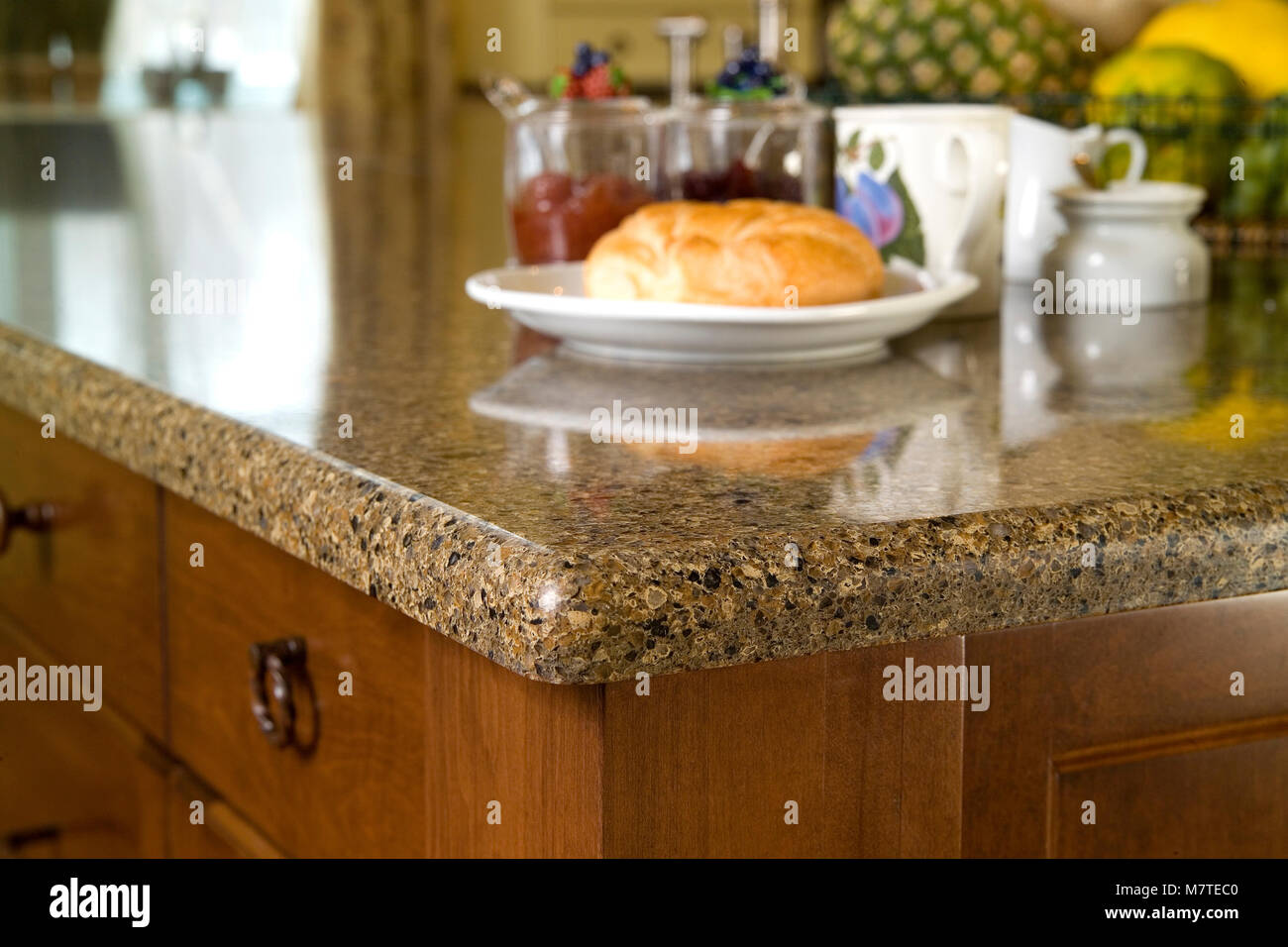 Planche En Granit Pour Cuisine granite countertop photos & granite countertop images - alamy