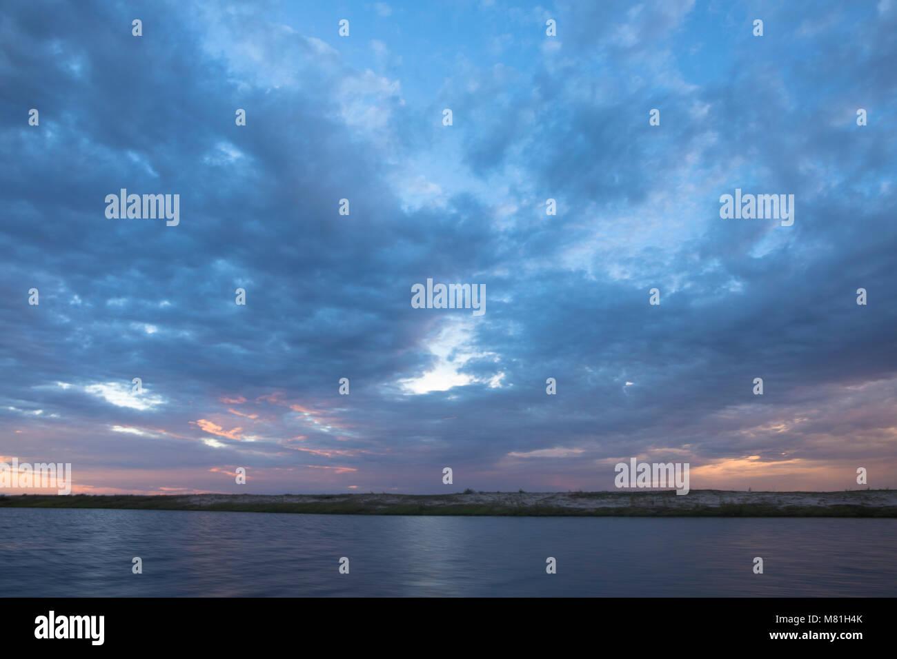 Ciel bleu pour un arrière-plan Photo Stock