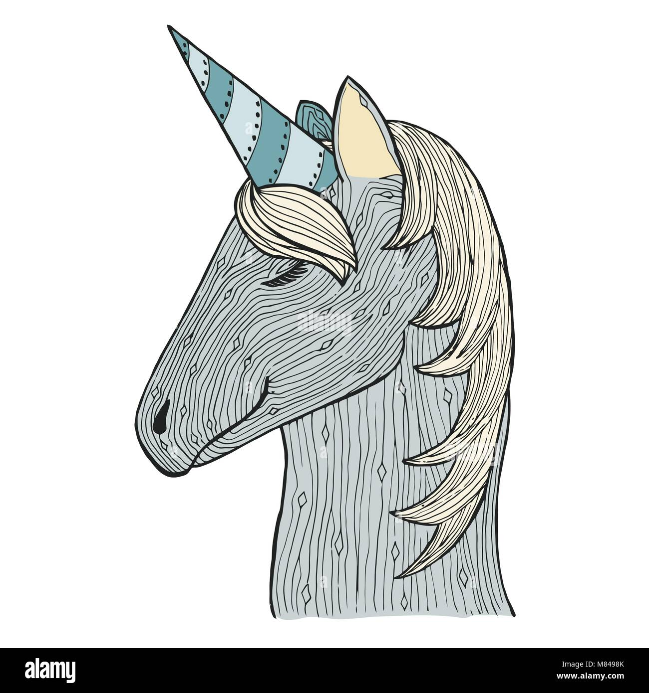 Coloriage Cheval Zen.Le Zen S Emmeler Et Doodle Unicorn Zentangle Etalon Cheval