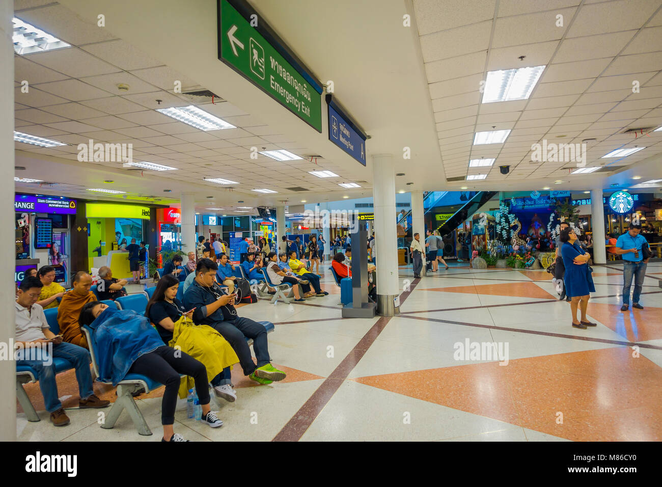 point de rencontre aeroport bangkok