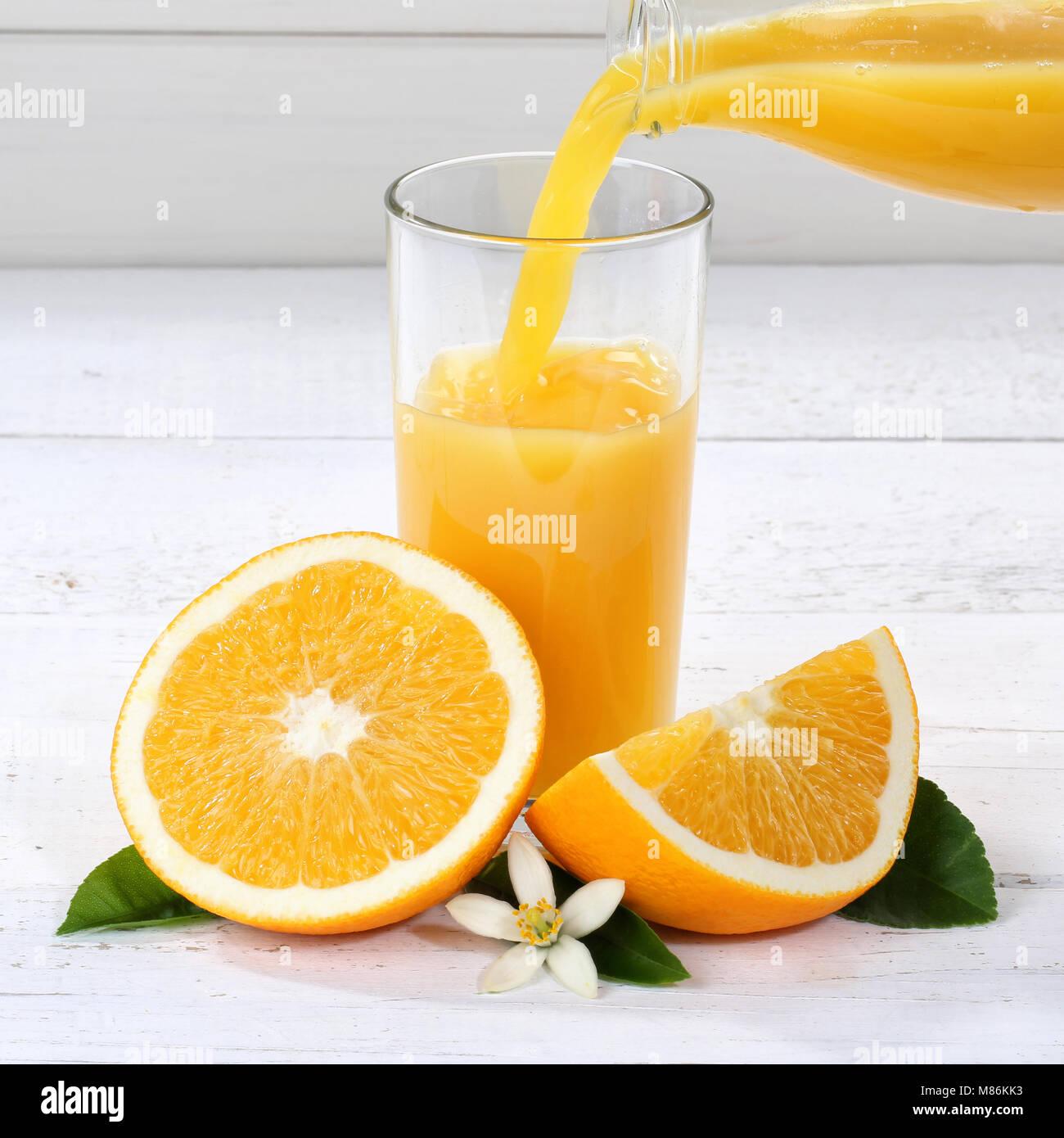 9d9392da86456a Verser le jus d'Orange pour les oranges fruits fruits carrés ...