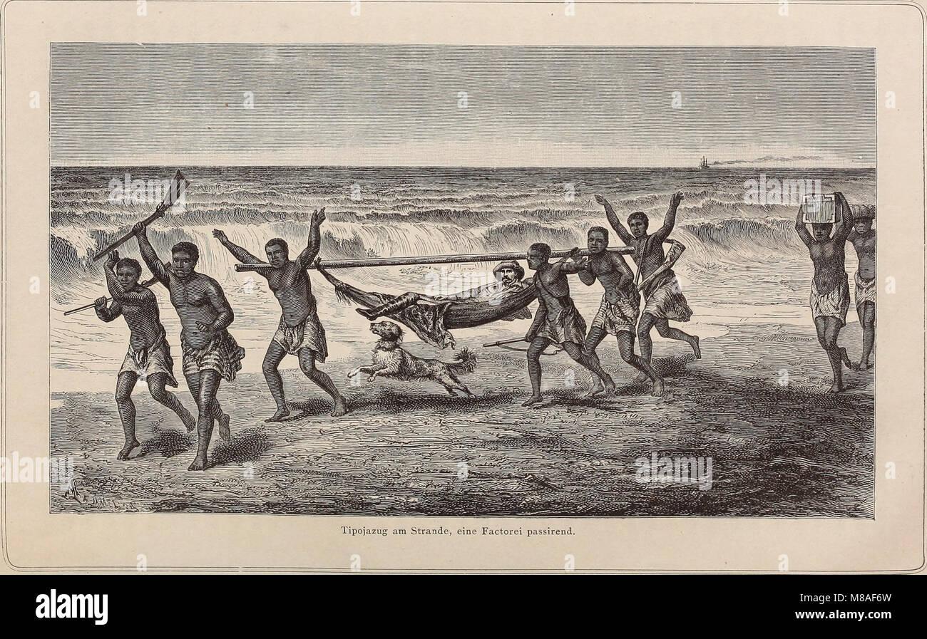 Die Loango-Expedition ausgesandt von der Deutschen Gesellschaft zur Erforschung, Aequatorial-Africas 1873-1876. Dans Reisewerk Ein drei Abtheilungen (1888) (20745108969) Banque D'Images