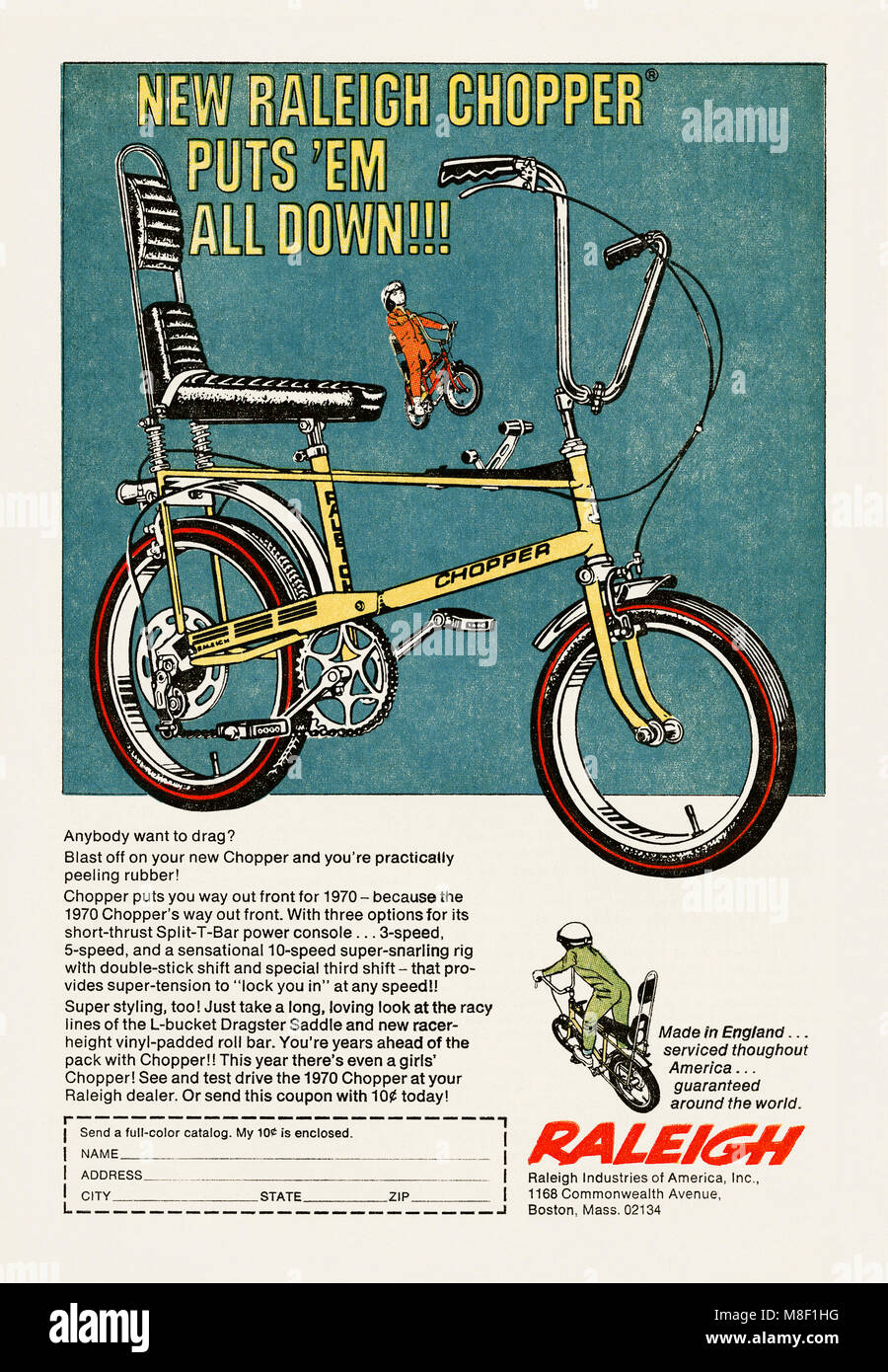 datant Raleigh Chopper