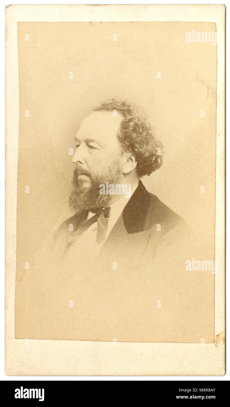 Meubles Anciens C1860 Carte De Visite Bayard Taylor 1825 1878 Est Un Ecrivain Poete Critique Litteraire Traducteur Auteur Voyage
