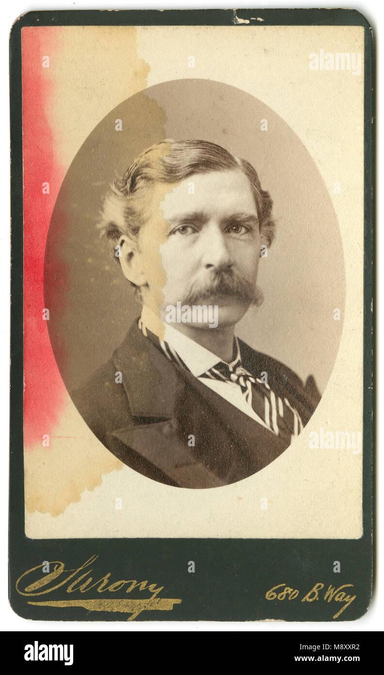 Meubles Anciens C1860 Carte De Visite EA Sothern Edward Askew 1826 1881 Est Un Acteur Connu Pour Ses Roles Comiques En Grande Bretagne Et