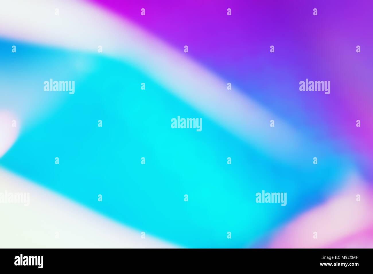 Neon uv holographique Résumé Contexte unfocus. Banque D'Images