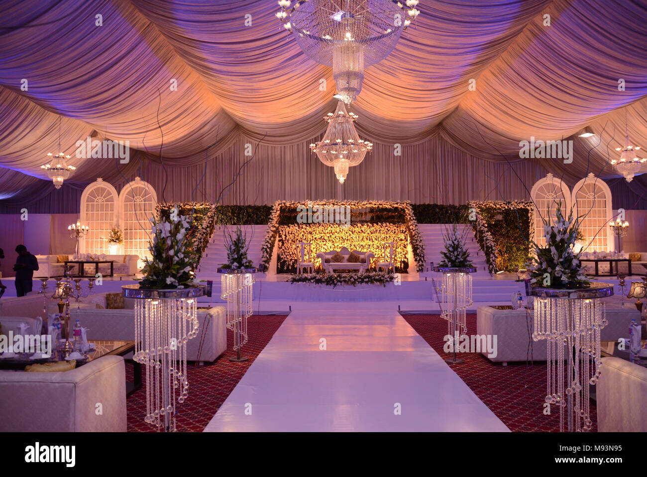 Wedding Setup Photos Wedding Setup Images Alamy
