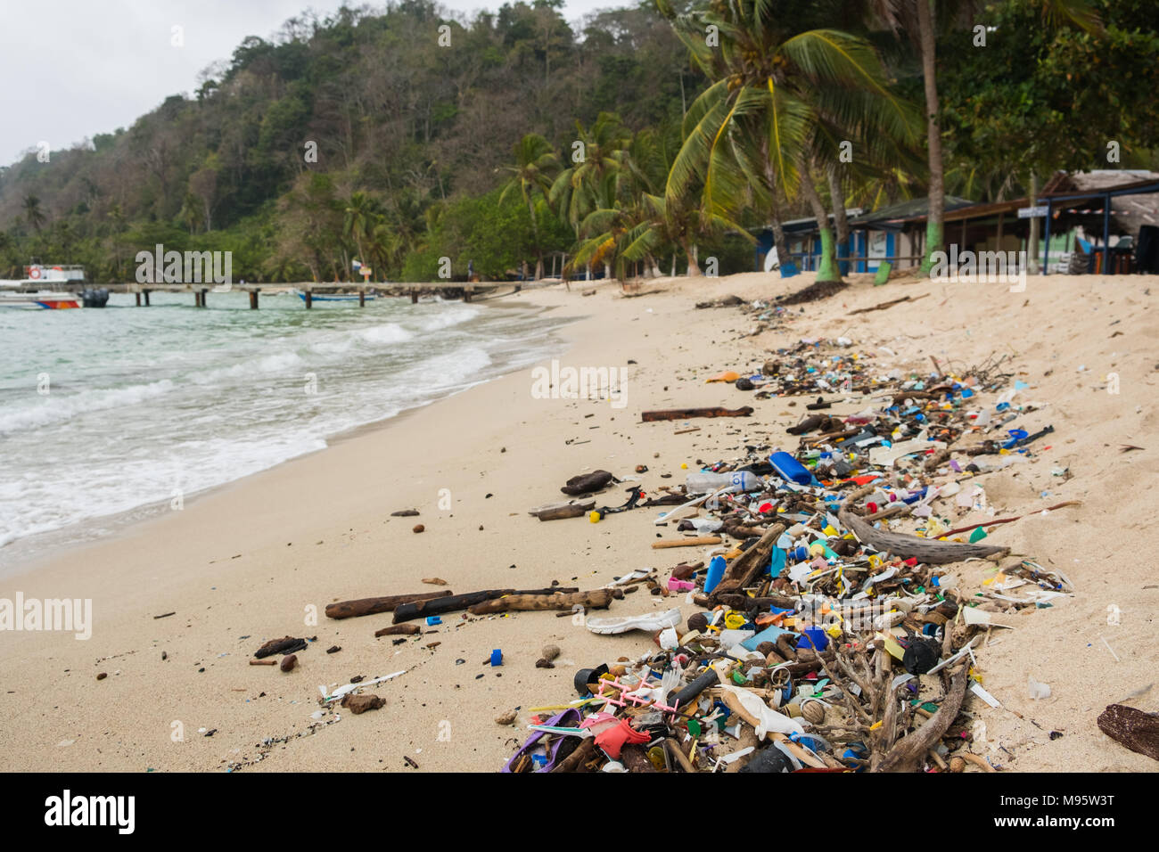 Garbage On Beach Photos Garbage On Beach Images Alamy