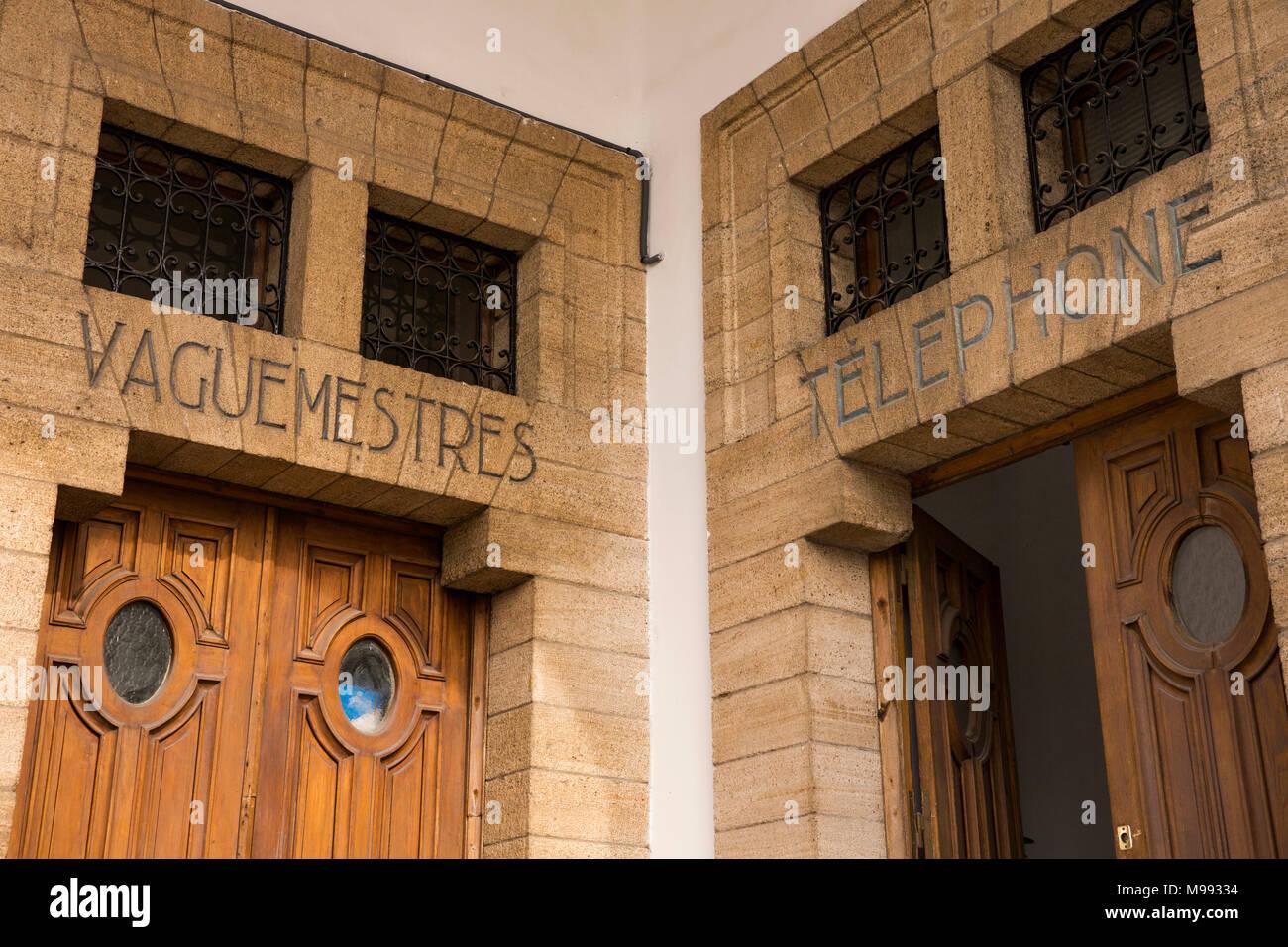 Maroc casablanca centre ville avenue hassan ii bureau de poste