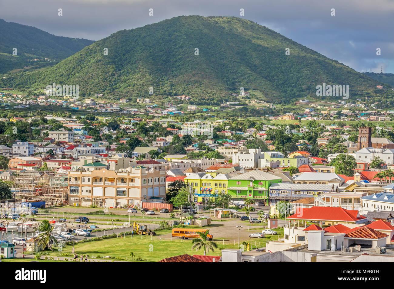 Basseterre, Saint Kitts, West Indies Banque D'Images