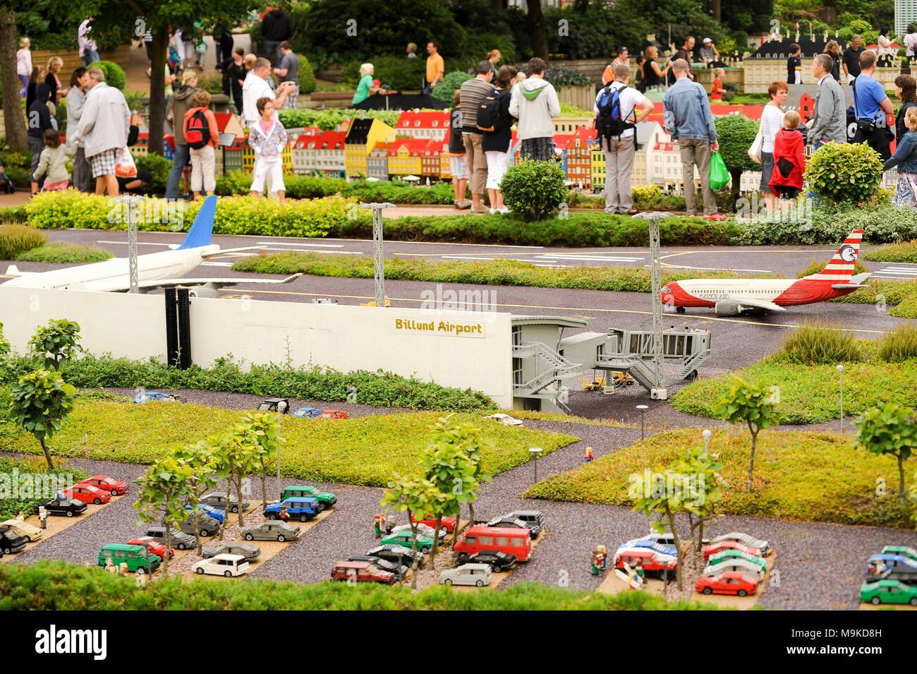 Mini Lego Briques L'aéroport Des En De BillundDanemark IED2H9W