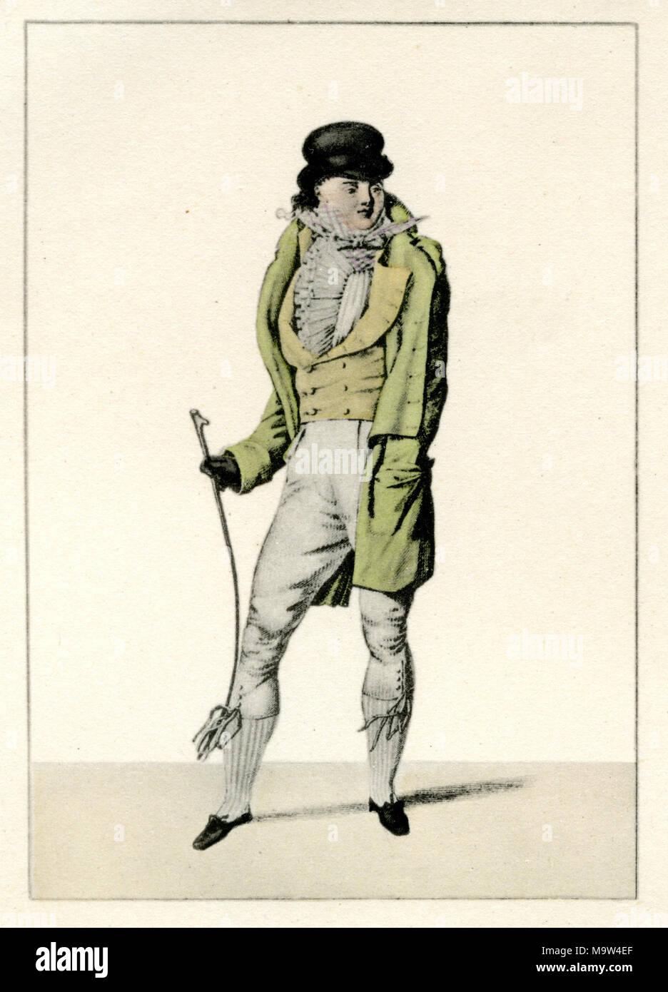 Assistant-gérant de: Le Bon Genre, Paris, vers 1810 Photo Stock