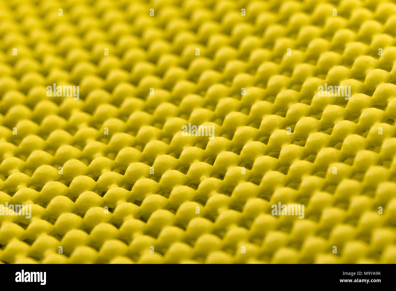 Close up detail de mini jaune mat Banque D'Images