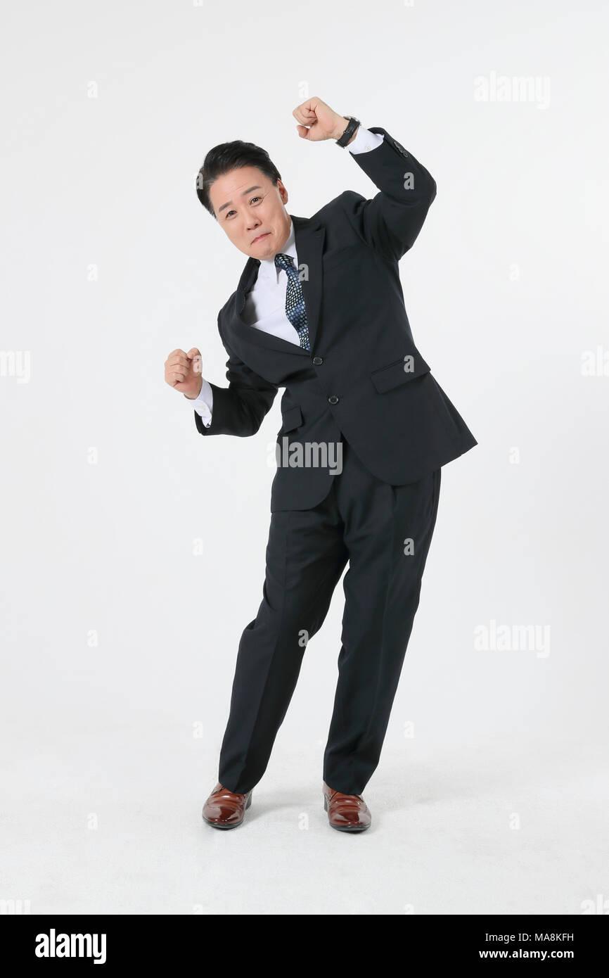 La vie d'un homme d'âge moyen concept photo. un homme d'âge moyen , le travail quotidien et les loisirs. 162 Photo Stock