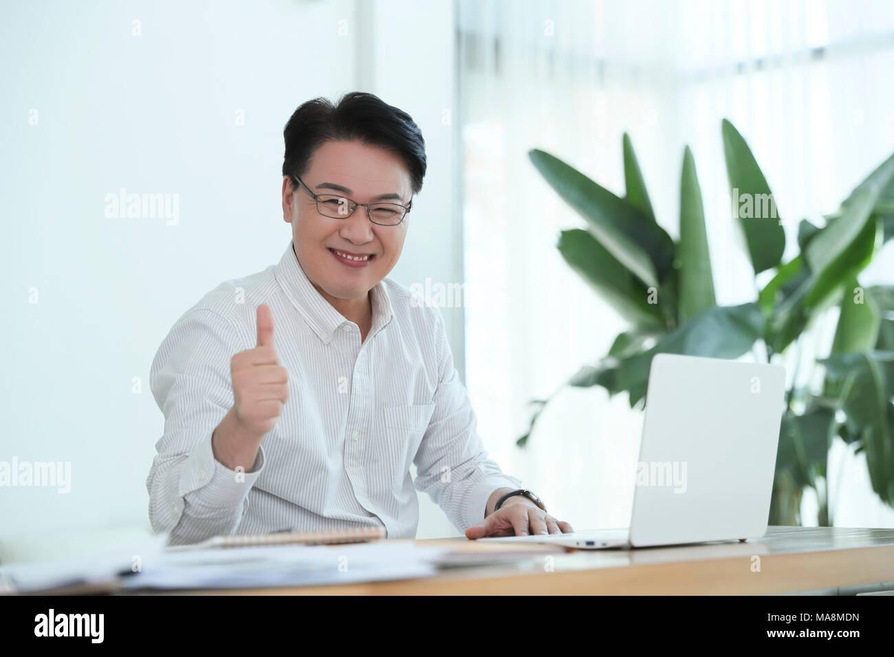 La vie d'un homme d'âge moyen concept photo. un homme d'âge moyen , le travail quotidien et les loisirs. 049 Photo Stock