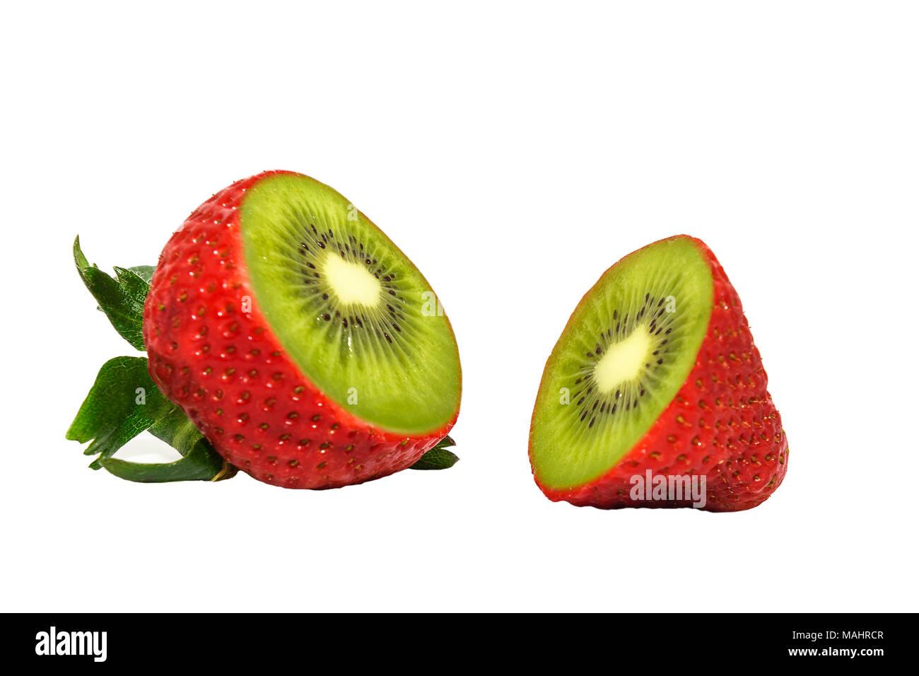 Image concept de fruits génétiquement modifiés Photo Stock