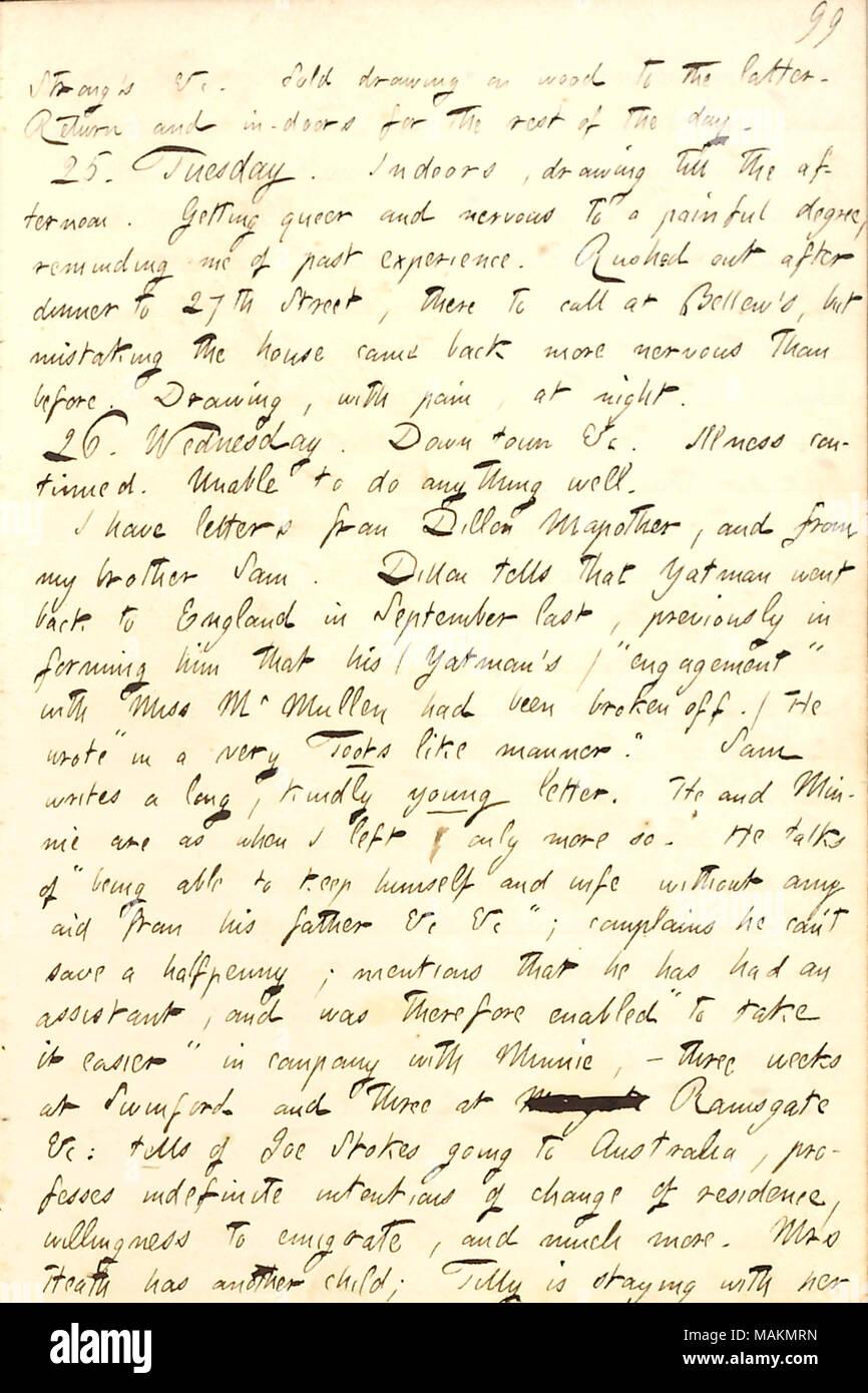 Décrit Une Lettre De Son Frère Sam Gunn Transcription