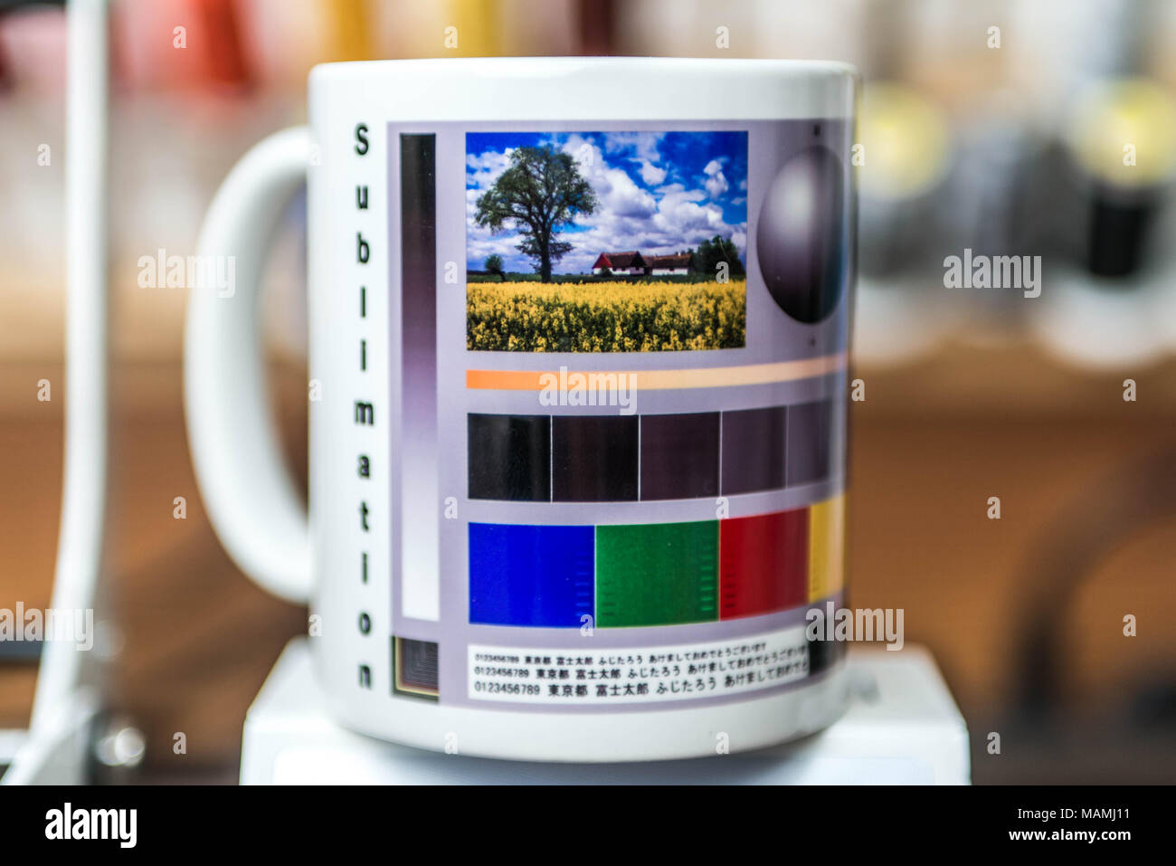 Impression Mug Machine Production De Sublimation Designer 8nPO0kXNw