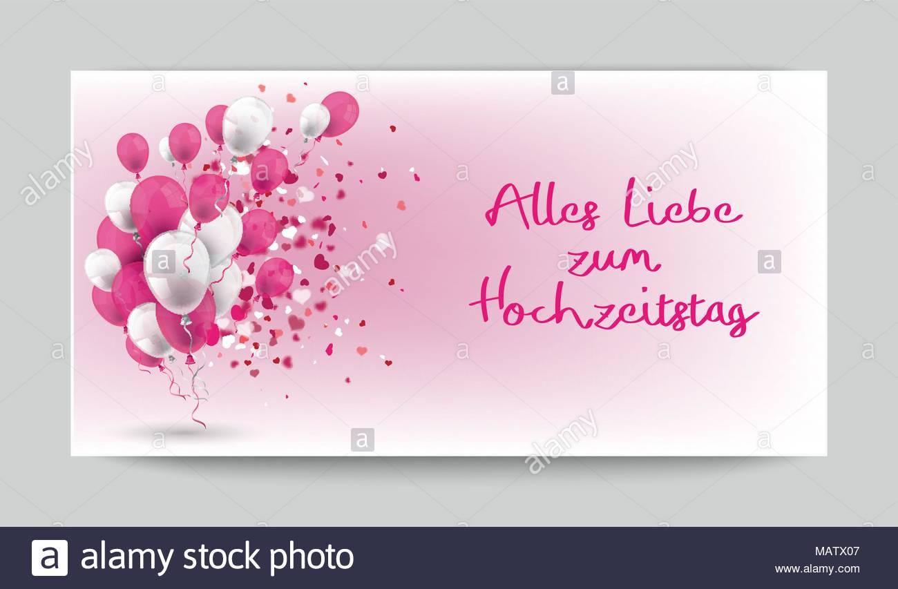Texte Allemand Alles Liebe Zum Hochzeitstag Translate Joyeux