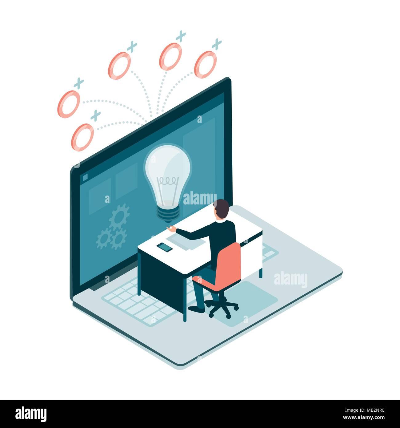 Offres et demandes de professionnels travaillant en ligne et partager son  projet créatif, il reçoit les paiements électroniques 5f66c2343e0d
