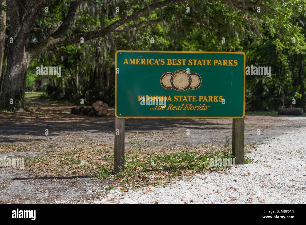 Florida parcs d'État avec crochet complet