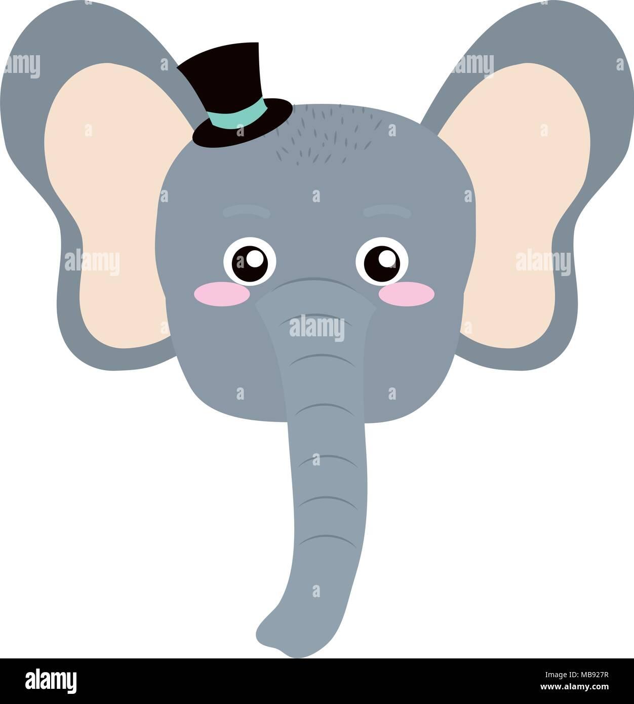 Elephant Head Cartoon Photos   Elephant Head Cartoon Images - Alamy 897ccb11a22