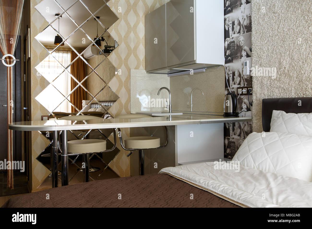 Chambre d\'hôtel, l\'\'aparthotel, appartement avec chambre à ...