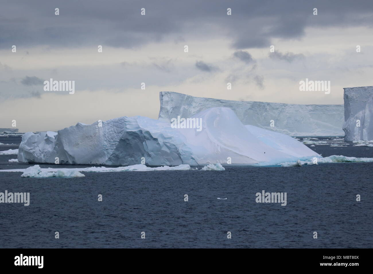Vues de l'Antarctique Photo Stock