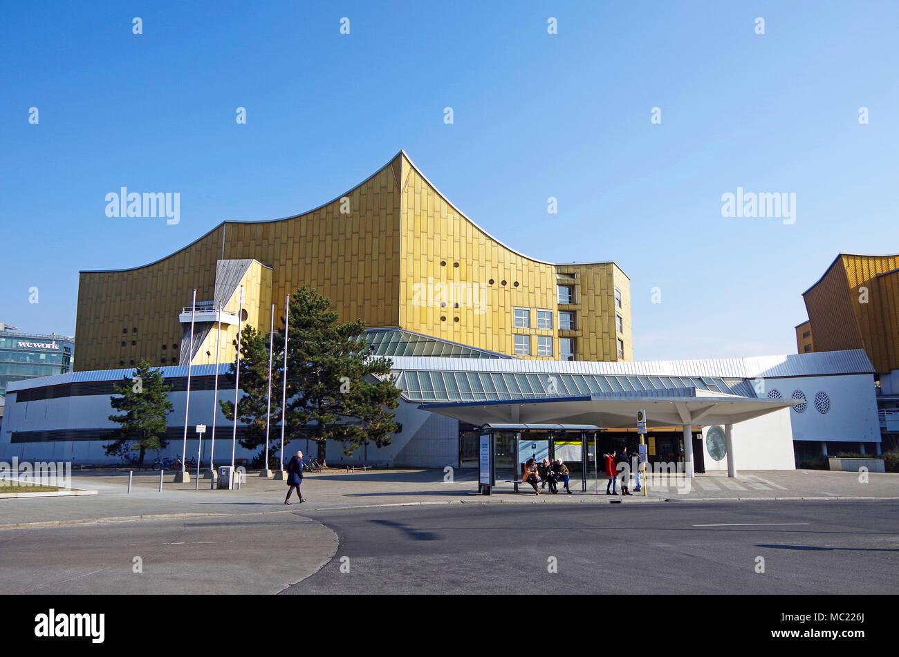 La Salle De Concert Philharmonie De Berlin L Accueil De L Orchestre
