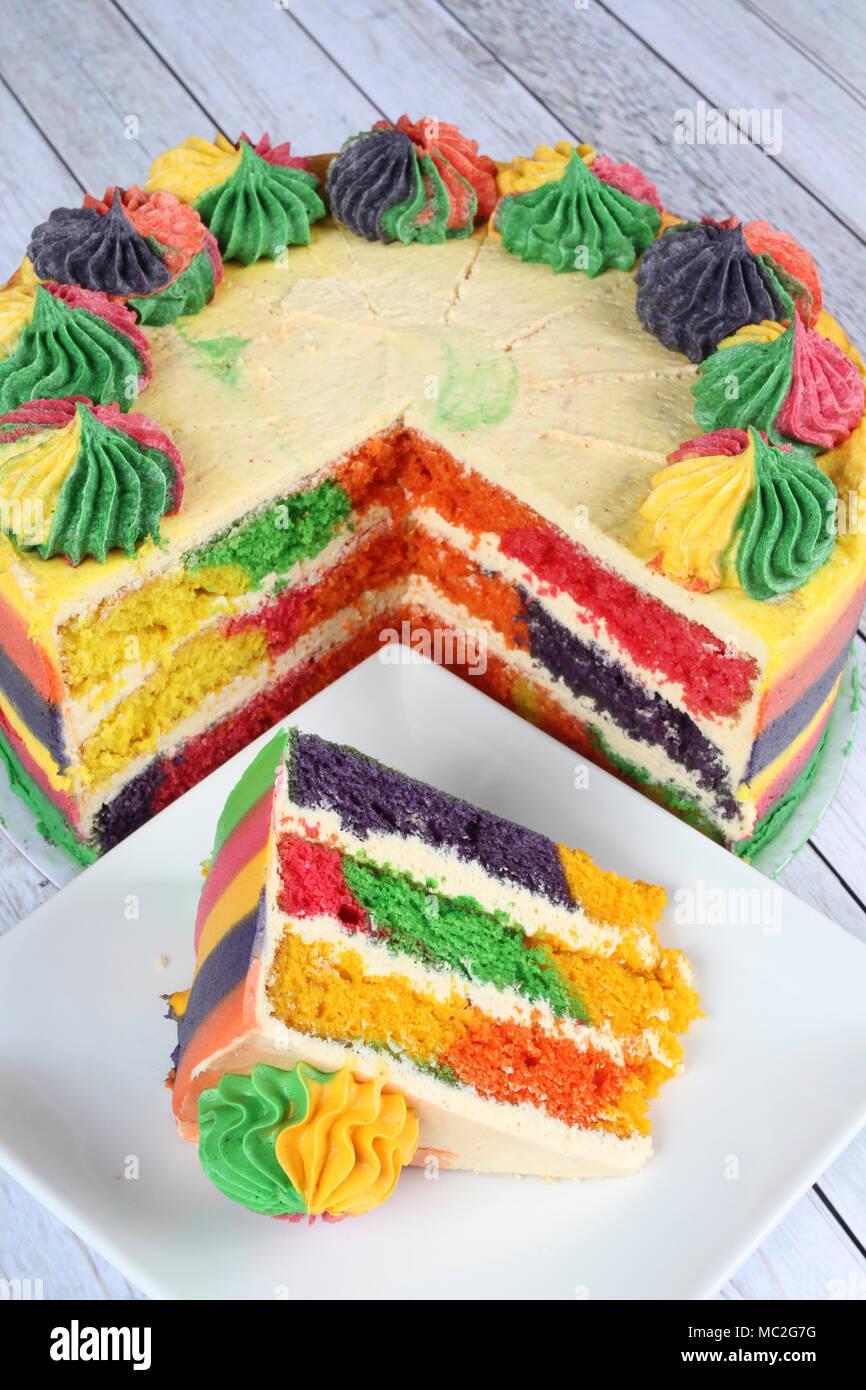 De délicieux desserts faits maison Photo Stock