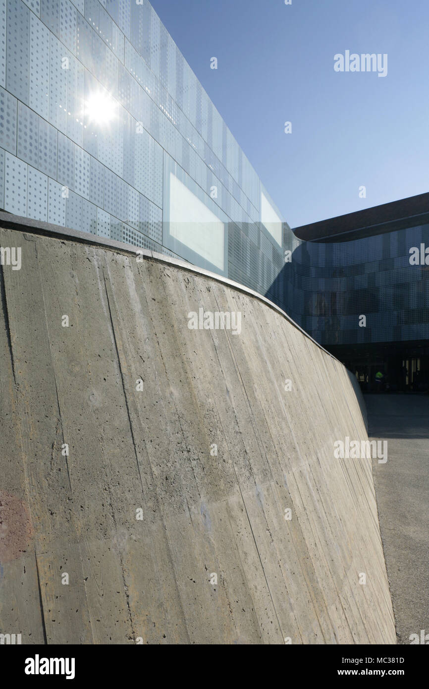 Détail de la National Automobile Museum, Turin, Italie. Banque D'Images