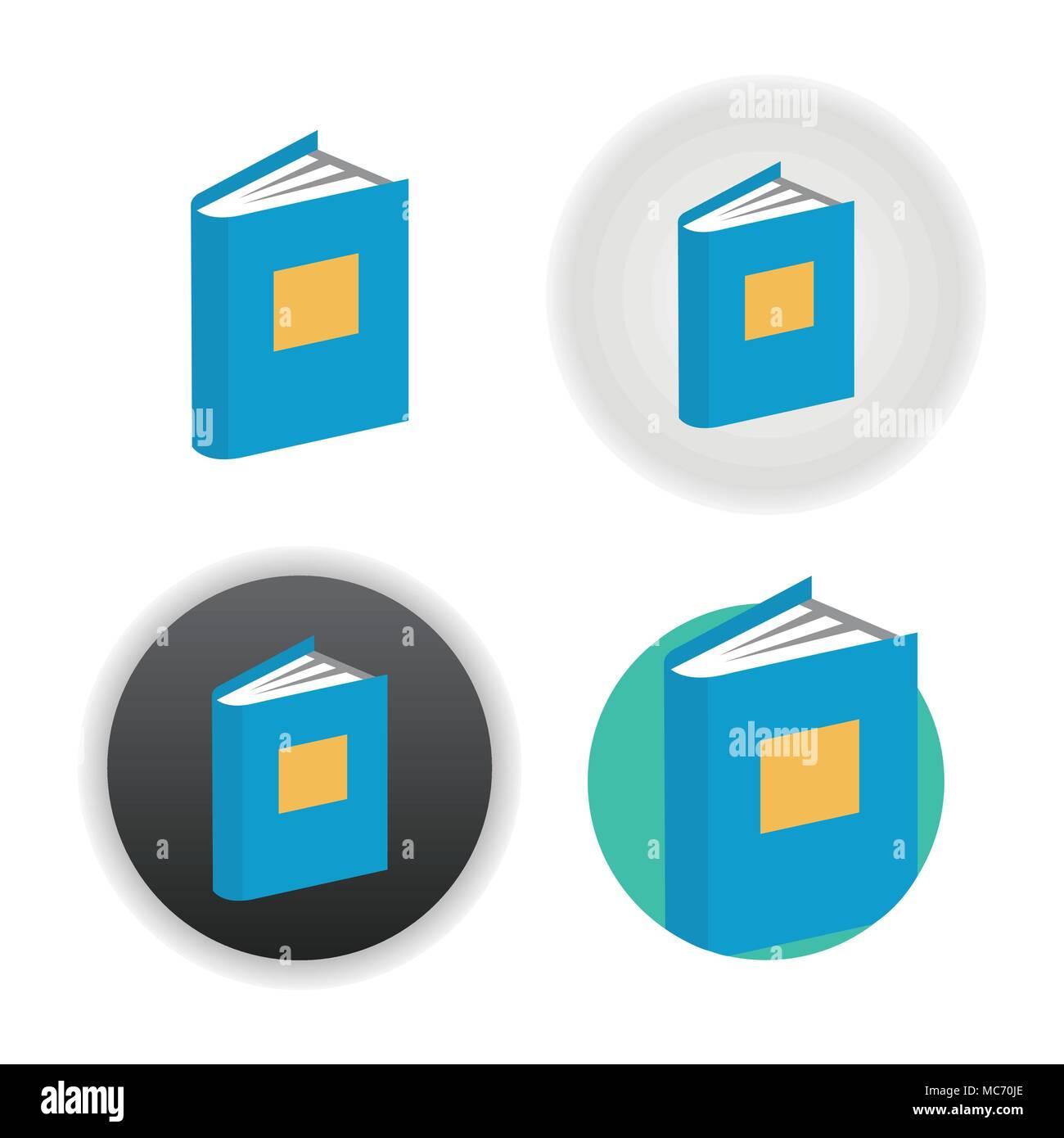 Livre Blanc Sur L Icone Vecteurs Et Illustration Image