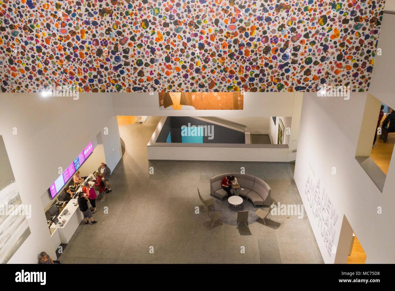 Portland Museum of Art à Portland, Maine Banque D'Images