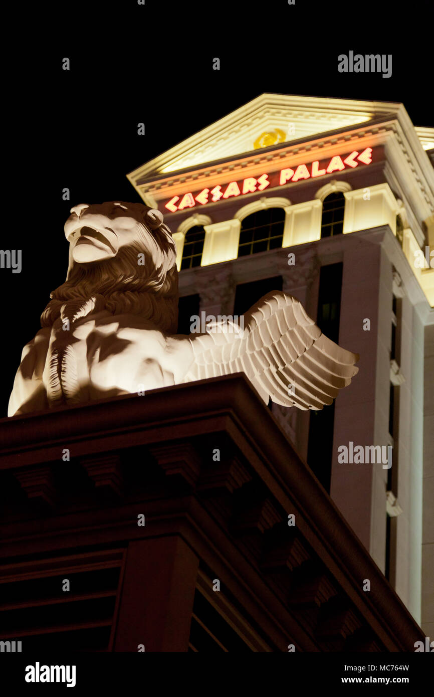 Caesar's Palace. Las Vegas, Nevada Photo Stock