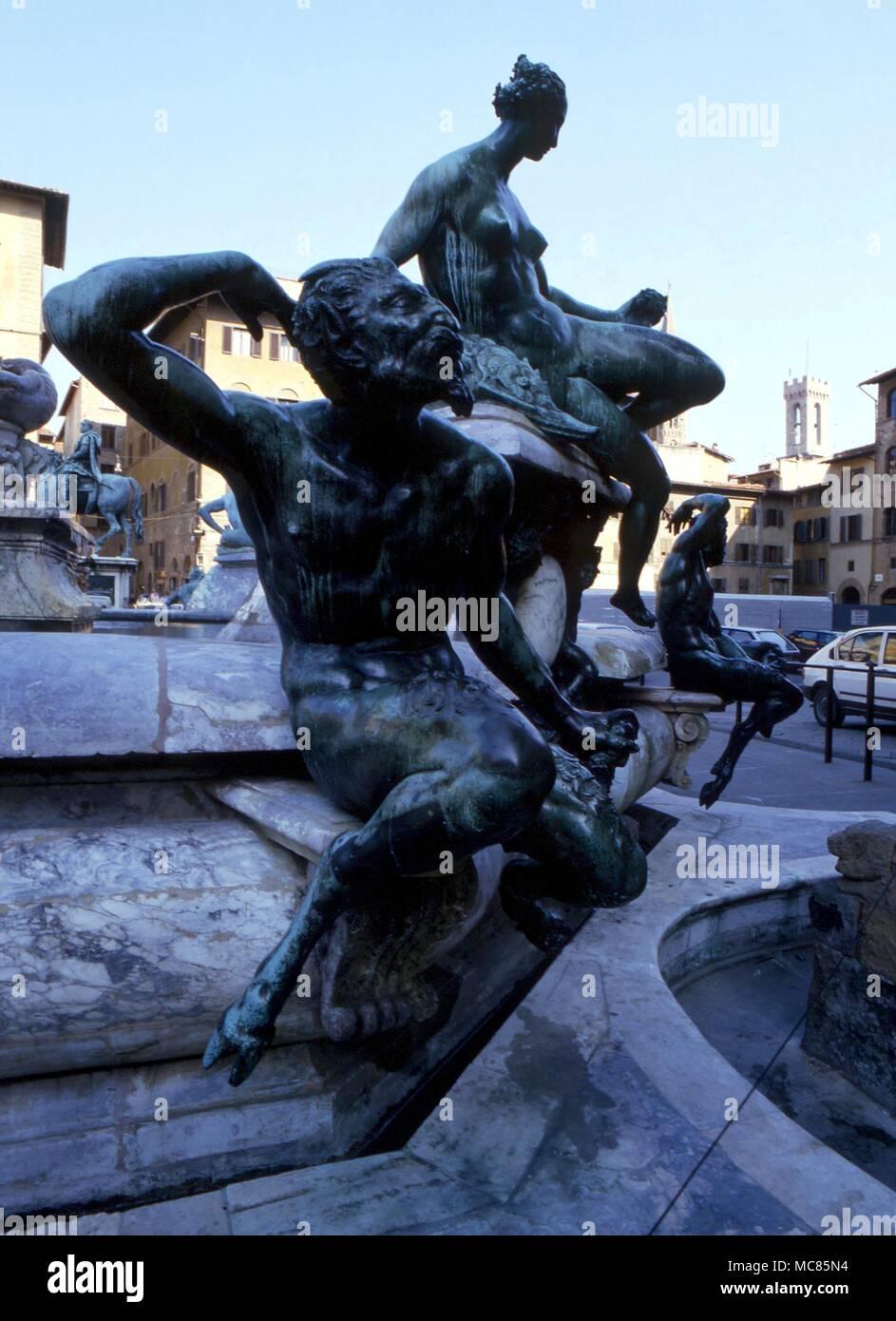 La Mythologie Grecque Statue Du Grand Dieu Pan Dans La
