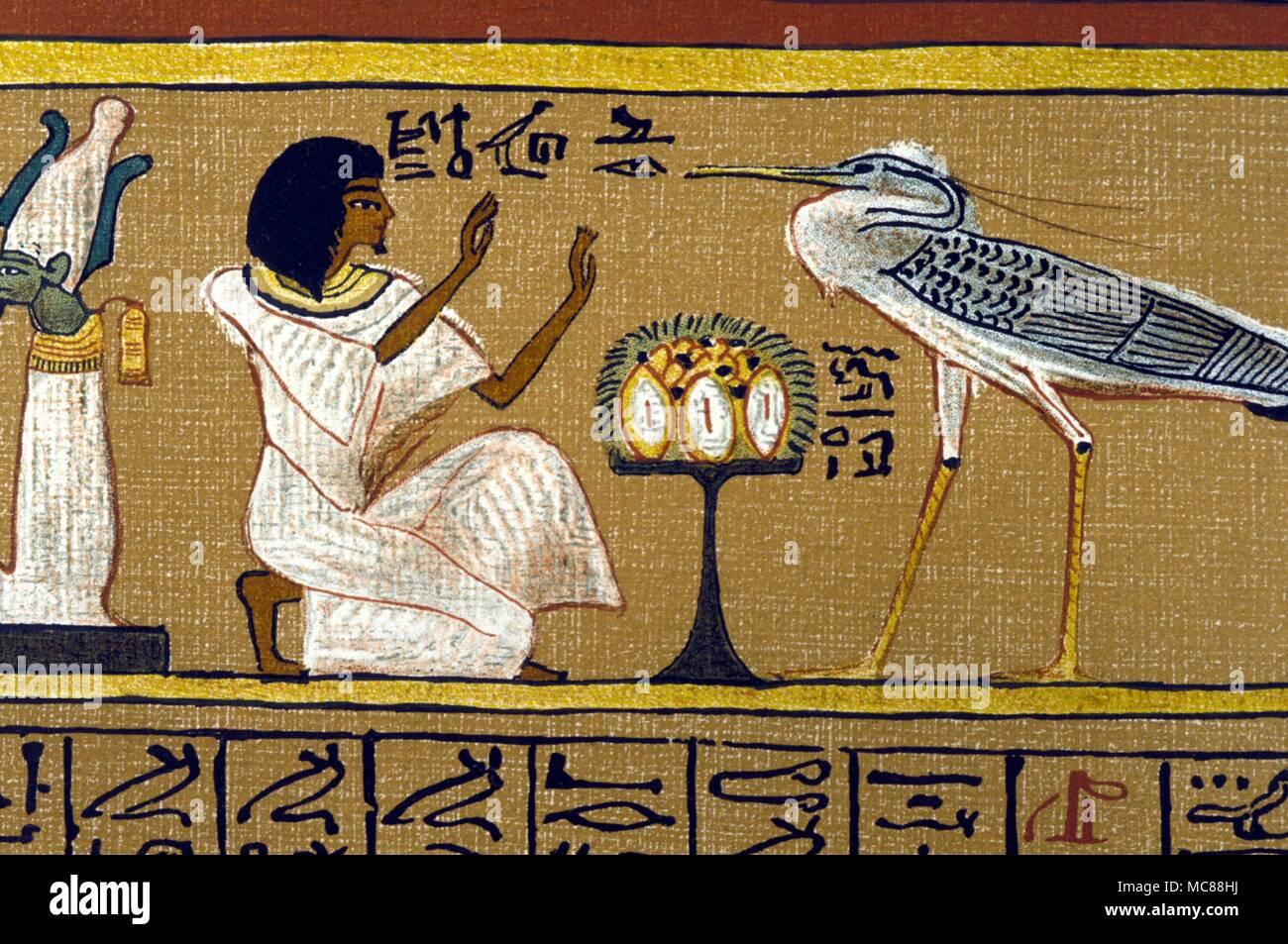 La Mythologie Egyptienne Oiseau Bennou L Esprit De La