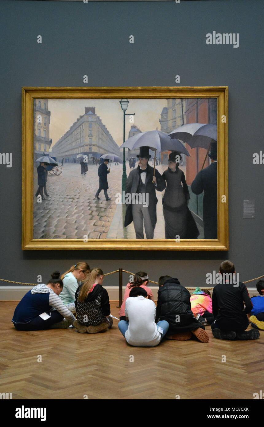 Les Jeunes Enfants Sasseoir Sur Le Sol Le Dessin Peinture Rue De