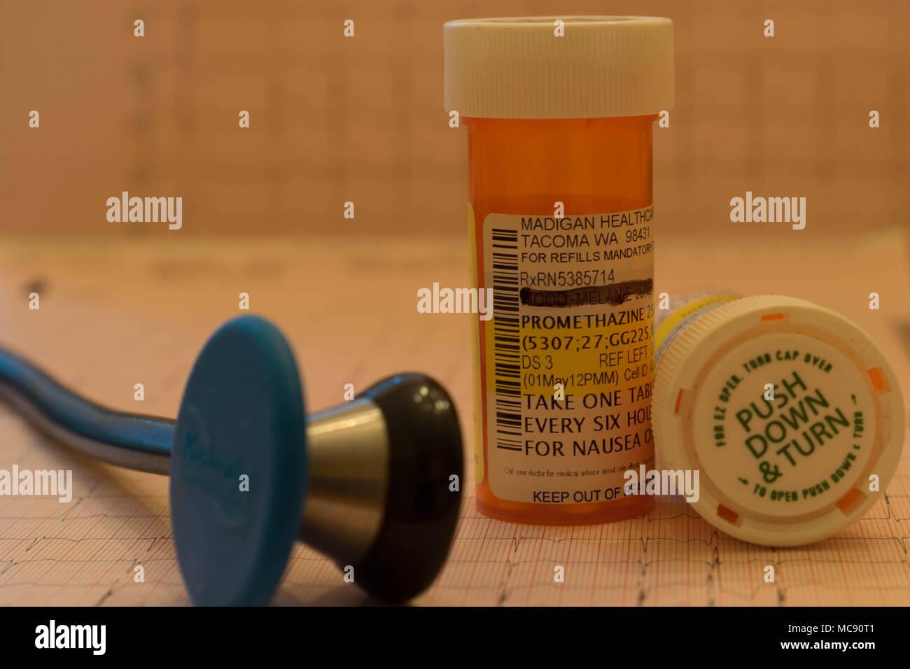 L'industrie médicale et de soins infirmiers et professions Photo Stock