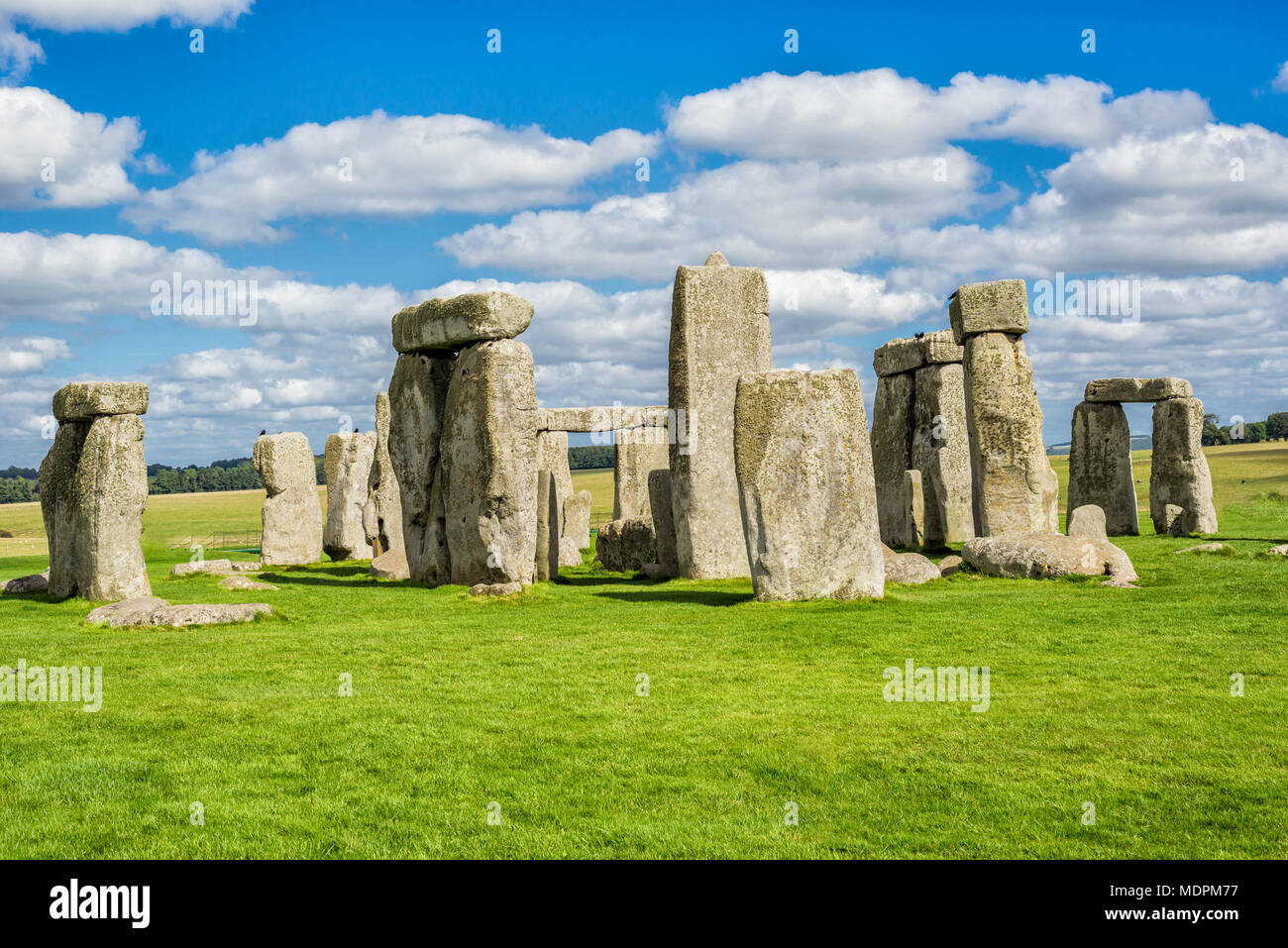 Stonehenge Royaume-Uni Photo Stock