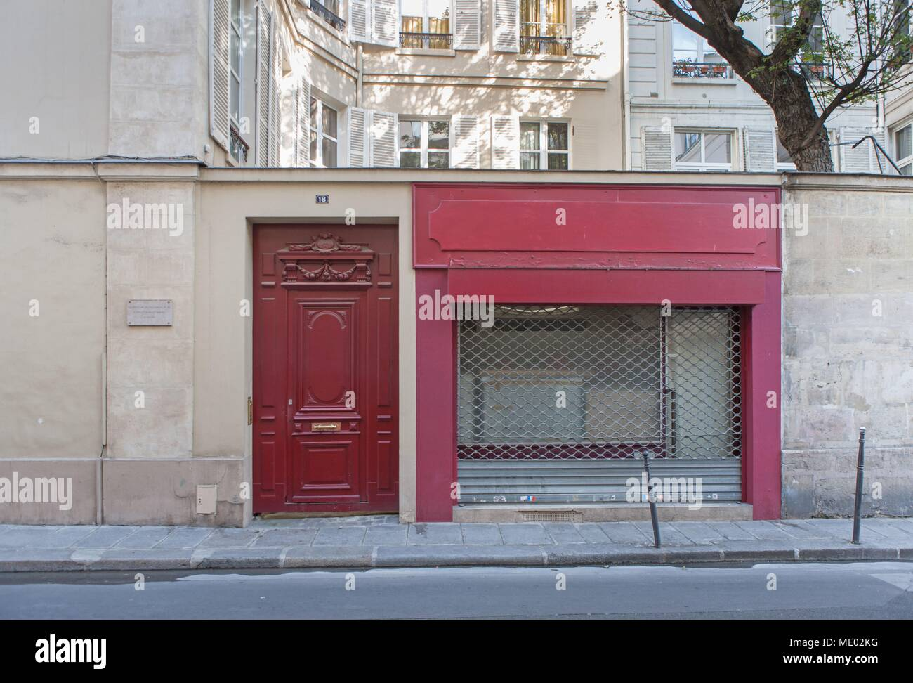Paris 1e Arrondissement 18 Rue De Châteaudun Où Vécut Le Poète