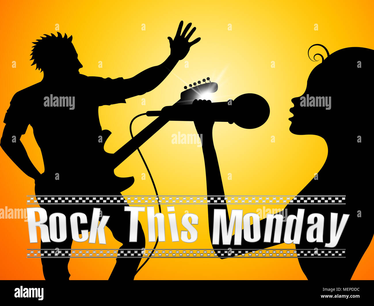 Motivation Lundi Citations Rock La Journée Chanteurs 3d