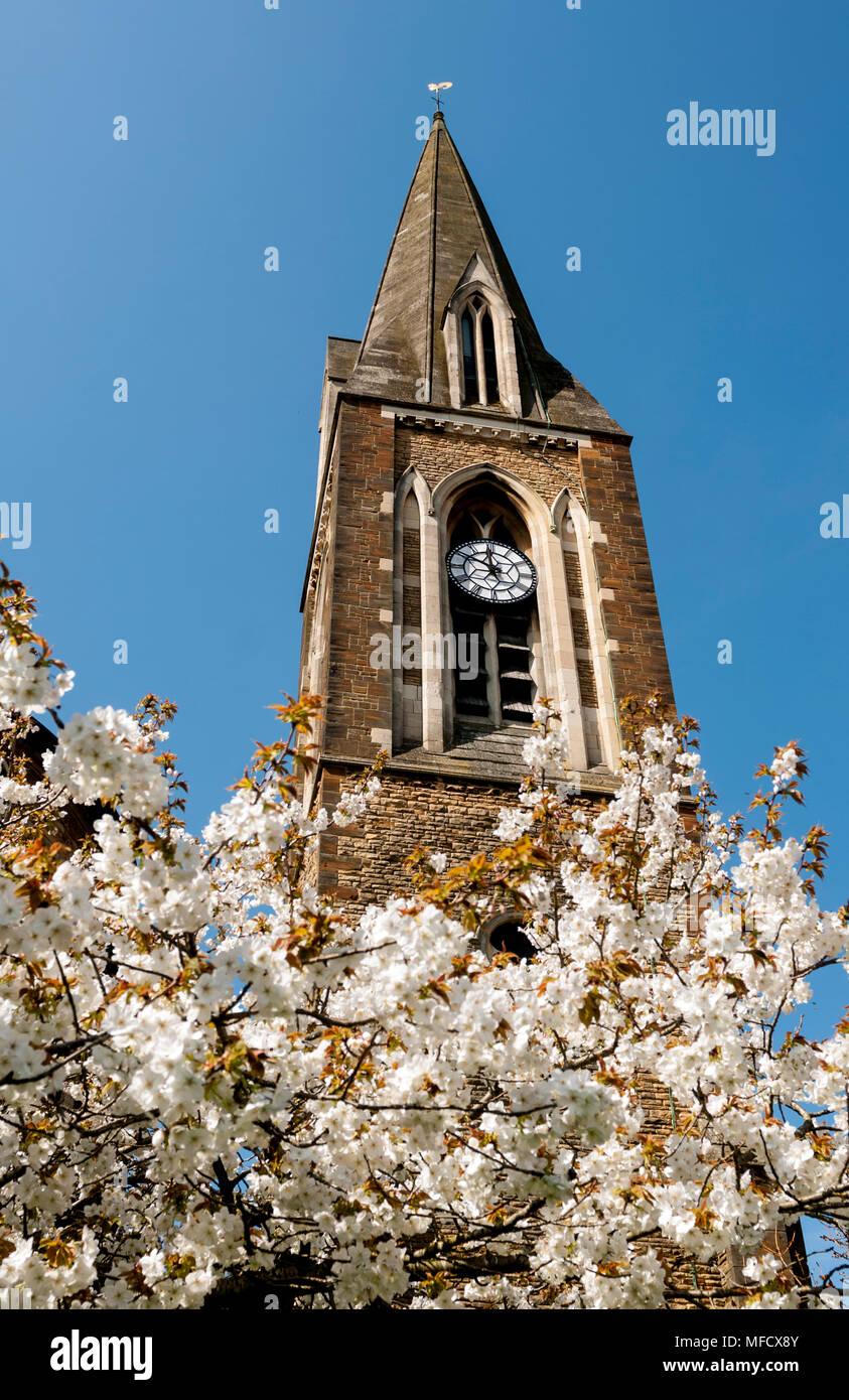 L Eglise De La Vierge Marie Avec Fleur De Printemps Ce Qui Concerne