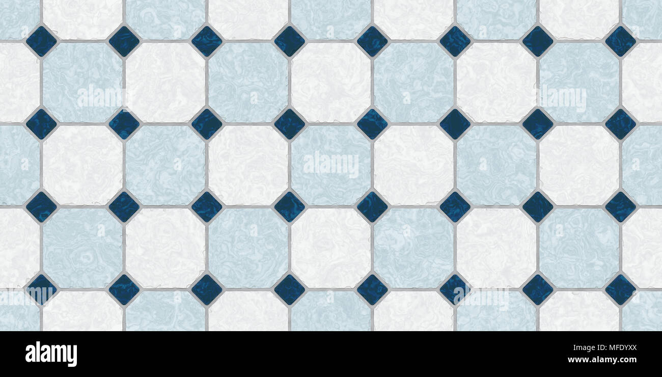 Bleu foncé gris classique transparente carreau de sol de ...