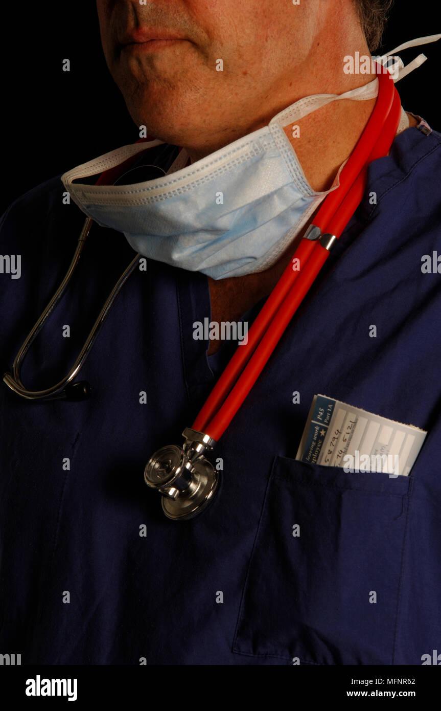 Chirurgien mis à pied Ref: CRB425_10046_063 crédit obligatoire: Sem - Allemand/Synercomm Photo Stock