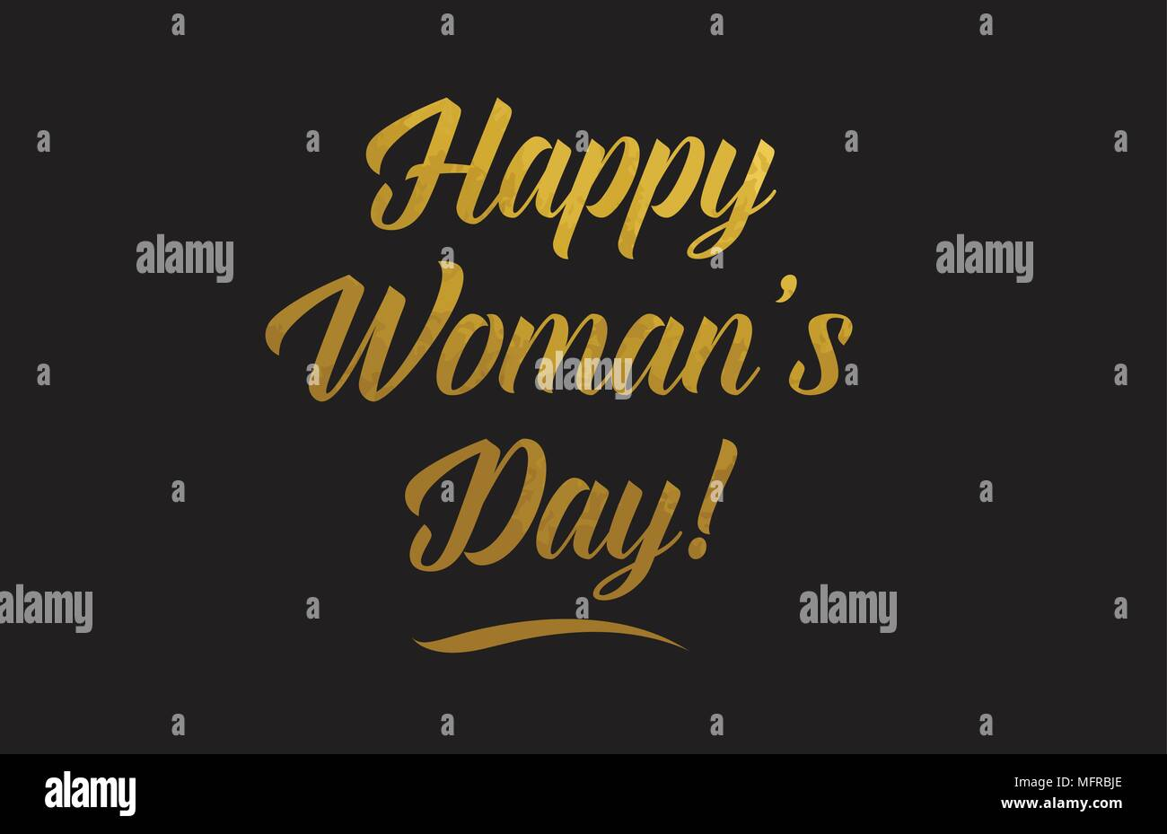 Happy Womans Day Or Word Texte Texture Convient Pour Carte De Visite Brochure Ou Typographie Design