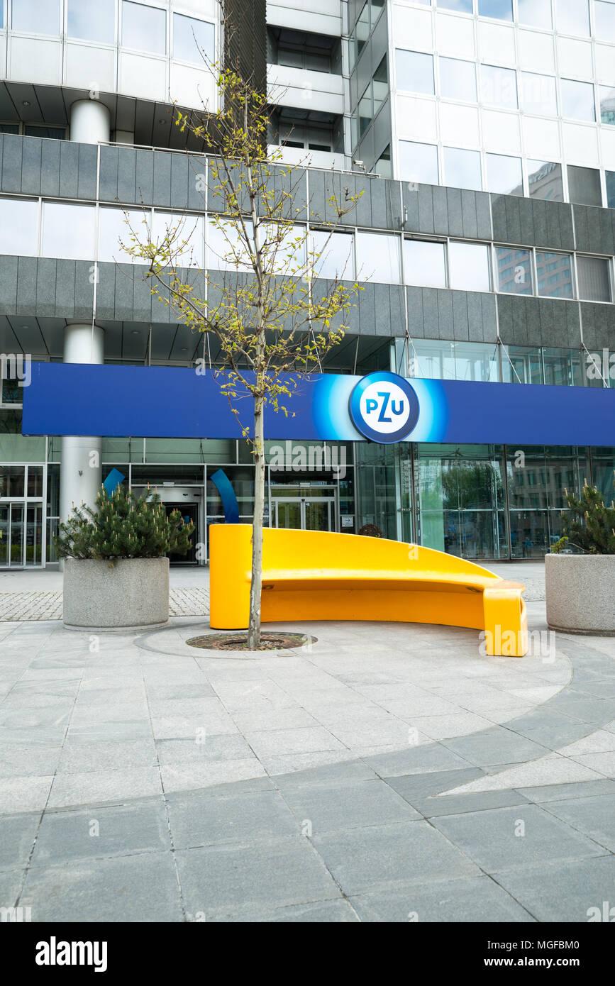 Varsovie, Voïvodie de Mazovie, Pologne, Europe Banque D'Images