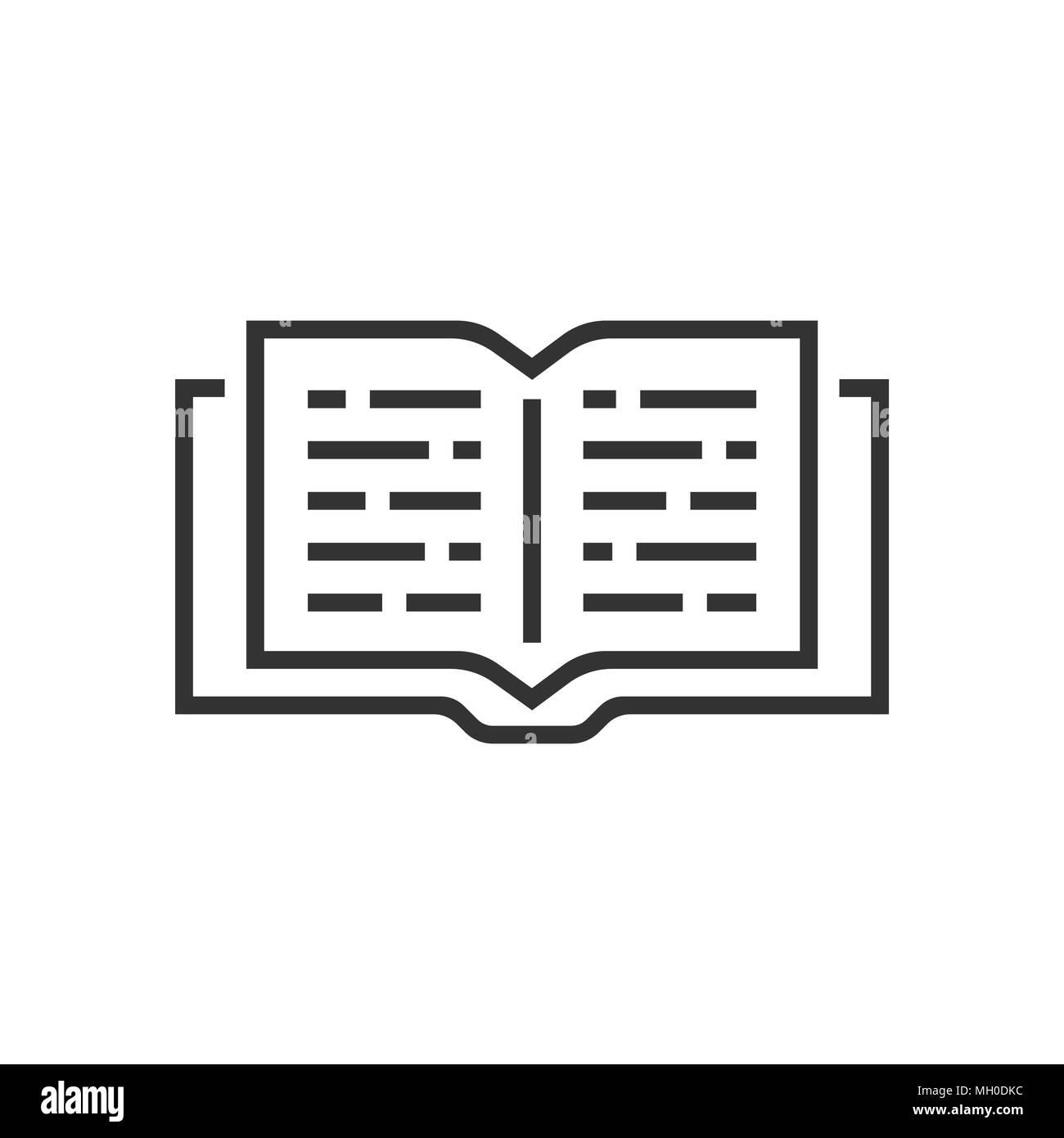 Icone Livre Ouvert Dans L Appartement De Style L