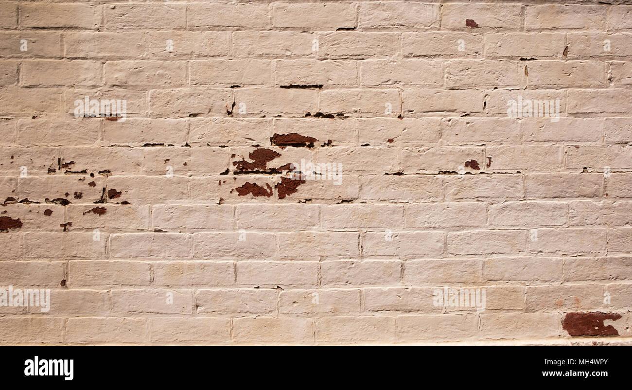 Peindre Un Mur De Brique la texture de fond de mur de briques avec vieille peinture