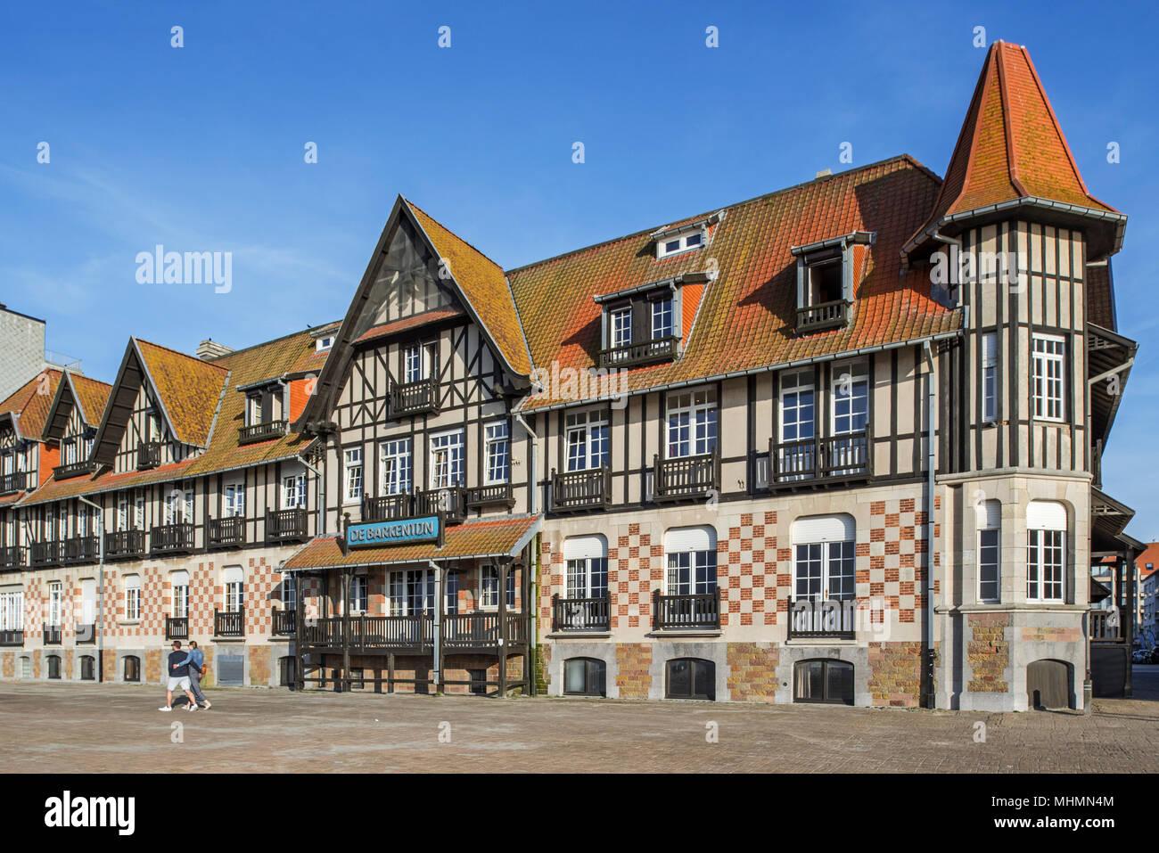 De Barkentijn, Maison Du0027angle De Style Normand, Maintenant Centre De  Vacances Dans