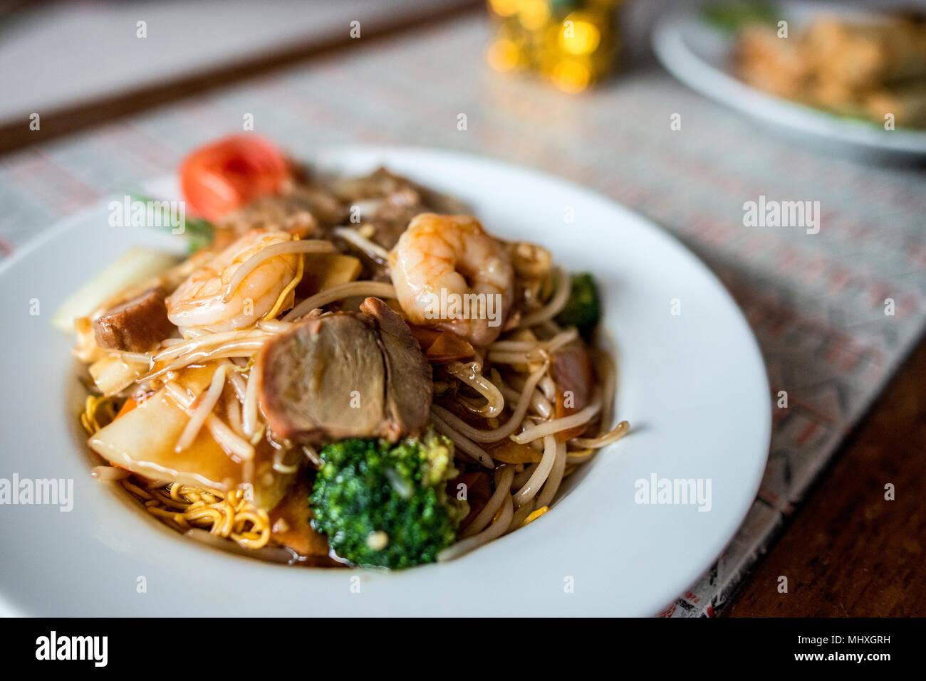 Cuisine chinoise Photo Stock